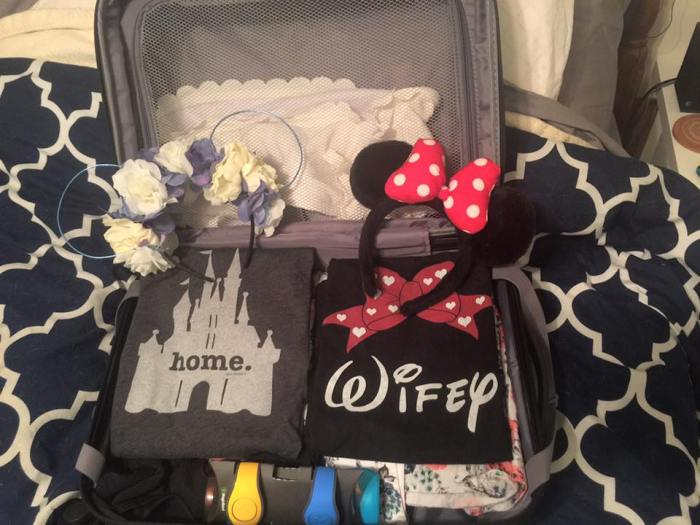 My suitcase to Disney